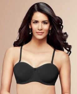 Trylo Padded  Strapless Just Multi Bra
