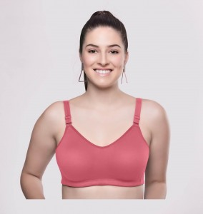 Riza Superfit Satin Luxury Full Coverage Bra Rose